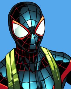 """School is around the corner ya kiddos ready for a new challenging year? Miles Morales, Marvel Art, Marvel Dc Comics, Marvel Coloring, Steve Ditko, Silver Age Comics, Black Spider, Spiderman Art, Spider Verse"