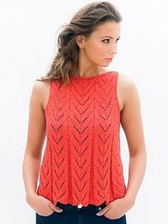 A wide hem decreases to the neckline. Shoulders are joined for a simple boat neck.