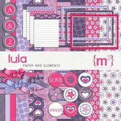 Lula Kit - Digital Scrapbooking Kits DesignerDigitals