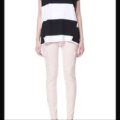 Zara Cargo Pants Pink/Blush Color Zara Pants