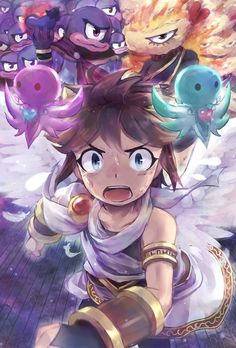 178 Best Kid Icarus Pit The Angel Of Heavens Images On Pinterest