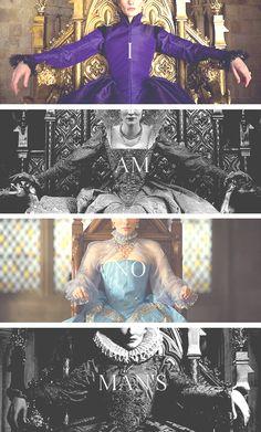 I am not your Elizabeth! I am no man's Elizabeth!