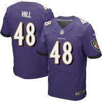 #48 Will Hill Baltimore Ravens Elite Jers