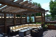 Lincoln Park Roof Deck by Chicago Roof Deck and Garden, via Flickr