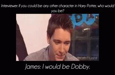 Awww he would make a perfect Dobby! no offense to Dobby. Harry Potter Actors, Harry Potter Jokes, Harry Potter Fan Art, Harry Potter Fandom, Harry Potter World, Phelps Twins, Oliver Phelps, Weasley Twins, No Muggles