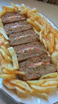 Cookbook Recipes, Cooking Recipes, Greek Recipes, Meatloaf, Food And Drink, Beef, Meals, Foods, Pillows