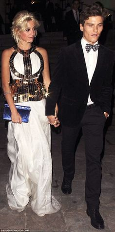 Pixie and Oliver... Most beautiful and stylish couple ever!