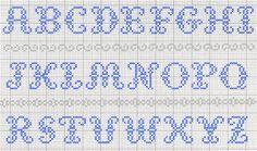 Really beautiful cross stitch alphabet