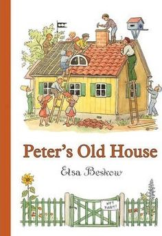 Buy Peter's Old House by Elsa Beskow at Mighty Ape NZ. Peter lives in a shabby old house in the village. He builds boats for the children, shows visitors around in ten different languages, and is the villa. Elsa Beskow, Vintage Children's Books, Vintage Art, Children's Book Illustration, Old Houses, Building Toys, Childrens Books, Painting, Telling Stories