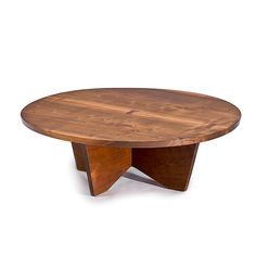 George Nakashima; Walnut Coffee table for Widdicomb, 1950s.