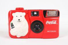 Novelty Coca Cola Bear 35mm Film Camera