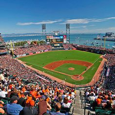 A Guide To Baseball's Best And Worst Stadiums...and #1 is AT&T Park, Home of the San Francisco Giants!