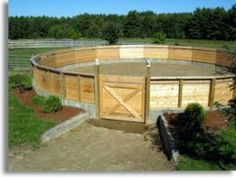 how to build a horse arena on a budget