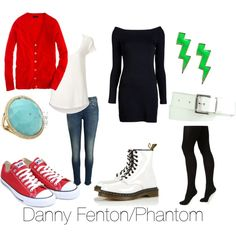 """Danny Phantom"" by michelle-geiser on Polyvore  Bless the person who made this post."