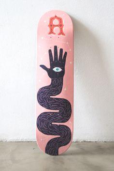 Skates by Alan Berry Rhys, via Behance