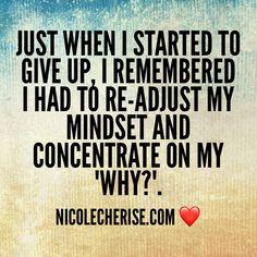 Keep going, it's crucial – Nicole Cherise