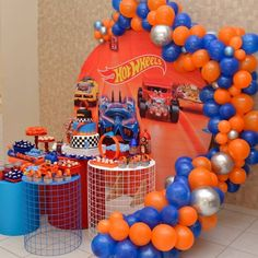 Nerf Birthday Party, Nerf Party, Baby Boy Birthday, 2nd Birthday, Birthday Ideas, Hot Wheels Birthday, Hot Wheels Party, Football Themed Cakes, First Birthdays