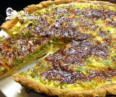Quiche, Iftar, Easy Cooking, Vegetable Pizza, Ham, Side Dishes, French Toast, Recipies, Food And Drink