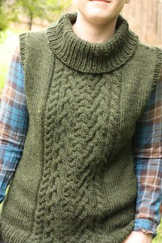 Ravelry: Project Gallery for Stillhouse Vest pattern by Thea Colman $7.00