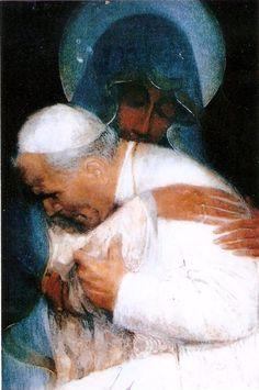 ORACIÓN DE JUAN PABLO II | La Virgen Maria