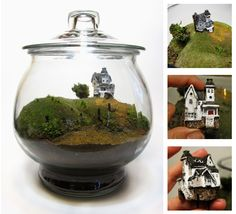 nightmare before christmas terrariums - Google Search