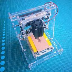 300mW Mini DIY Laser Engraving Machine Picture Logo CNC Laser Printer Assembling Kits