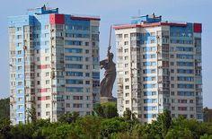 Motherland monument, Volgograd, Russia