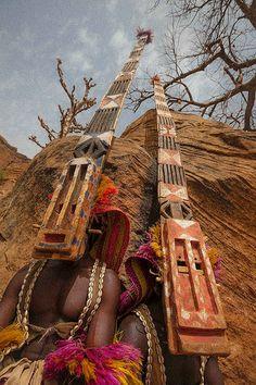 Dogon mask dance, tireli, pays dogon, mali | Flickr - Photo Sharing!