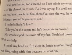 Jaime apologizing about Noah. The Retribution of Mara Dyer by Michelle Hodkin