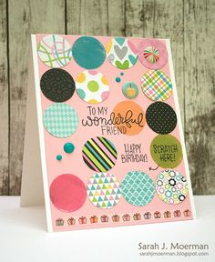 My Impressions: Simon Says Stamp September Card Kit: Interactive Birthday Card…