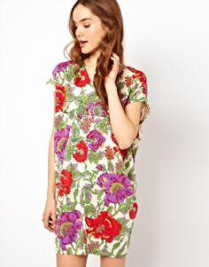 Enlarge Mina Bold Floral Dress