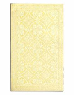 Romantic Lace Yellow Rug, Rosenberry Rooms