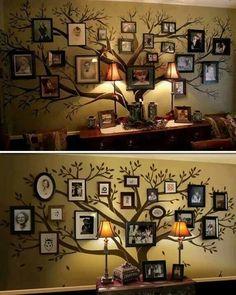 Lucuk nih, buat family tree kaya gini...