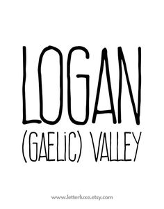 The Meaning of Logan Mousepad by PrettyLittleWeddings ...
