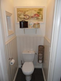 Toilets under the stairs on pinterest under stairs toilets and half baths - Toilet design small space property ...