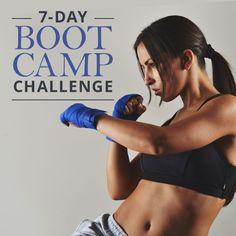 Take the 7-Day Boot Camp Challenge #workoutchallenge #bootcampchallenge
