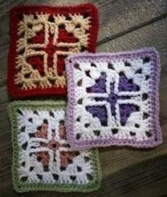 """Friendship blanket crochet along. 6"""" and 12"""" blocks twice a month. All patterns are FREE."""