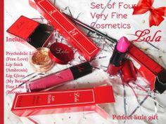 Lola Fine Makeup Holiday Gift 4* Her Christmas Lush lip gloss glitter Eye Pencil
