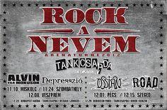 ..:: Rock a Nevem   tankcsapda.com ::..  És igen, Ott voltam! Rock Bands, Artists, My Favorite Things, My Love, Music, Musik, Artist, Muziek, Musica