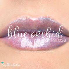 Blue Orchid Gloss is a Shea butter gloss by SeneGence with slight blue tint & opalescense to it.  Can be worn alone to hydrate lips or with any LipSense color to slightly change the color.  Message me to get yours.   #lipsense #senegence #gloss #sheabutter