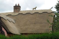 corn dolly on thatched roof - Google Search www.dodsonbrosthatchers.co.uk