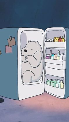 another cute bear Wallpaper Kawaii, Bear Wallpaper, Cute Disney Wallpaper, Iphone Wallpaper, Girl Wallpaper, We Bare Bears Wallpapers, Panda Wallpapers, Cute Cartoon Wallpapers, Ice Bear We Bare Bears