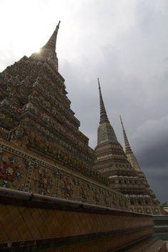 Wat Pho Buddhist temple in Bangkok