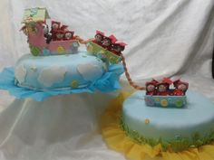 Torta de graduación infantil