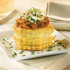 Pepperidge Farm® Puff Pastry: Pulled Pork & Coleslaw Bundles