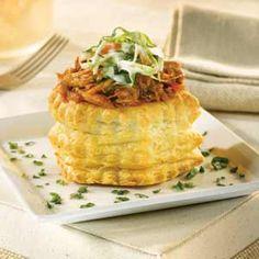 Pepperidge Farm® Puff Pastry: Pulled Pork & Coleslaw Bundles