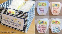 Jeu couches - Des idées pour un shower de bébé