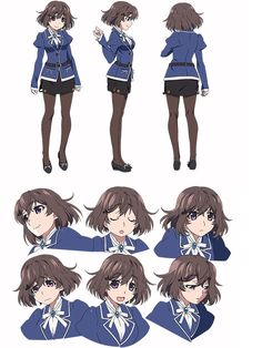 Character Model Sheet, Female Character Design, Character Modeling, Character Drawing, Character Design Inspiration, Female Characters, Anime Characters, Anime Poses, Action Poses