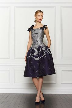 The Terrier and Lobster: Carolina Herrera Pre-Fall 2013: Playing Card Suits, Constellations, and Oversized Flowers