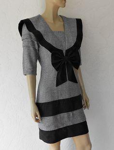 Vintage Dress/80's Off Shoulder Floral Tea Party by luvofvintage, $48.00